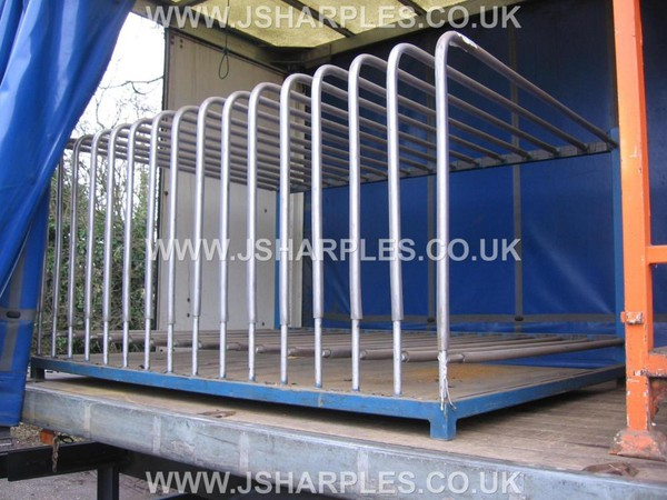 Used Toast Rack Style Storage Stillage