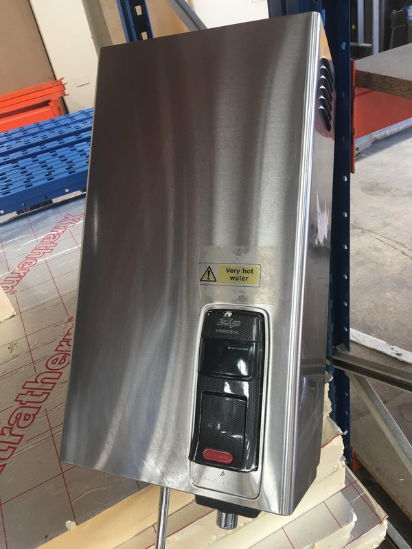 Zip Hydroboil HS107 Stainless Steel Continuous Hot Water Heater Boiler
