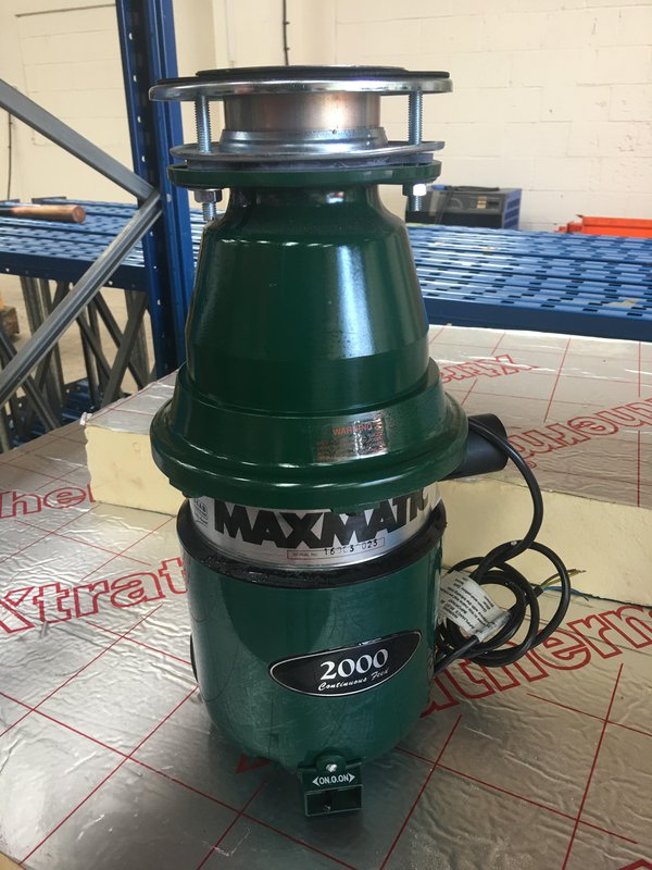 Maxmatic 2000 Continuous Feed Waste Disposal Masarator