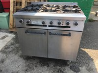 Falco 6 Burner Gas Oven