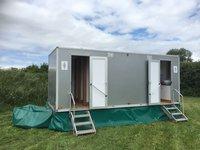 Luxury Recirculating 3 + 1 Toilet Unit trailer