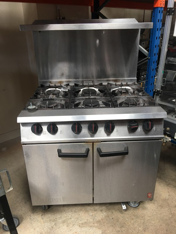 Falcon Dominator G2101 6 Burner Gas Range