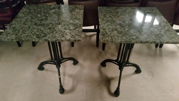 Green Top Tables