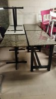 Green Granite Top Tables