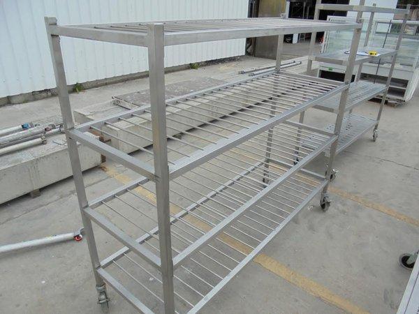 Stainless Steel 4 Tier Shelves/Rack