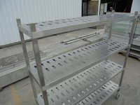Stainless Steel 4 Tier Shelves/Rack