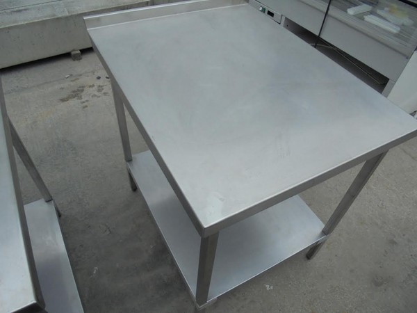 Stainless Steel Table (5198) - Bridgwater, Somerset