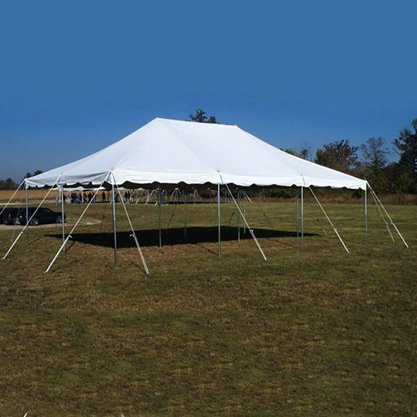 Presto Series Pole Canopy 6.1m x 9.1m (20' x 30'), 1 Piece Tent Top, Complete