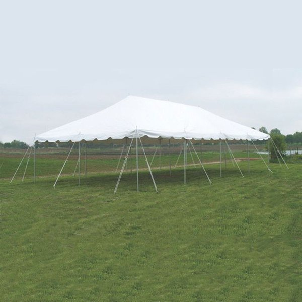 Presto Series Pole Marquee, 6.1m x 12.2m (20' x 40') 1 Piece Marquee Top, Complete