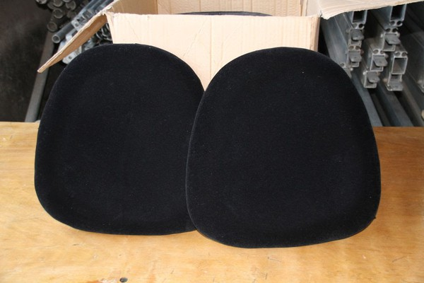 Black Seat Pads