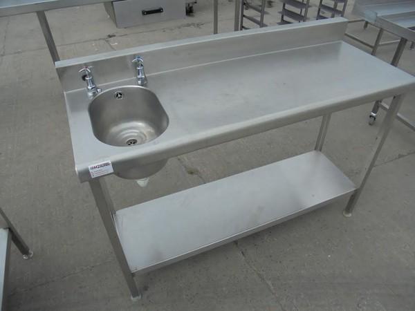 Stainless Steel Single Sink/Table
