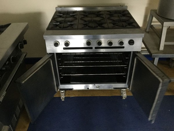Falcon Dominator 6 Burner Gas - Lancashire