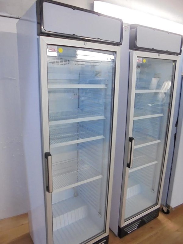 New Valera Glass Fronted Upright Display Fridge