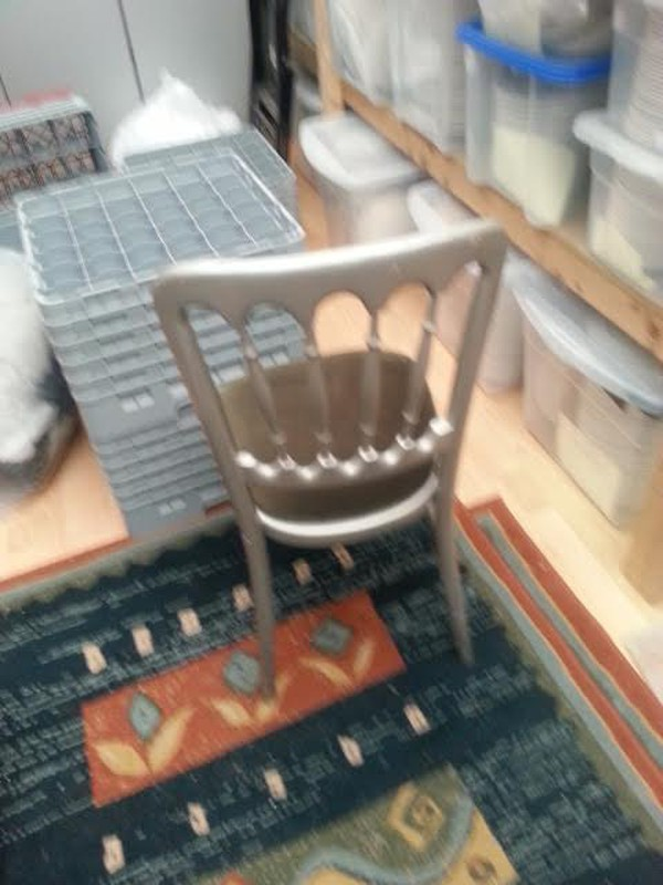 Silver Cheltenham Chairs Including Seat Pad