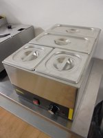 Wet Bain Marie With 4 Pots	(5245)