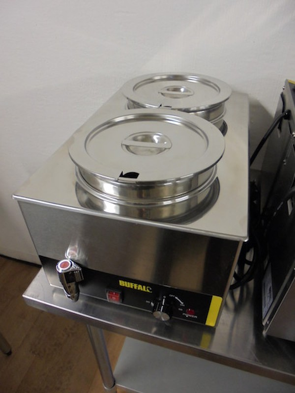 Ex Demo Wet Bain Marie With Tap And 2 Large Pots (5247)
