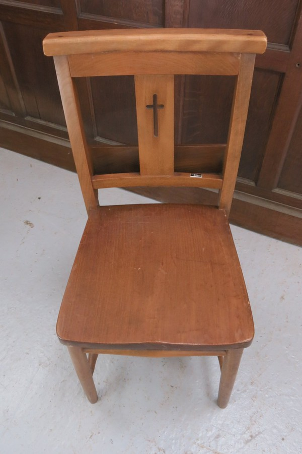 Oxford Cross Back Church Chapel Chairs (E)