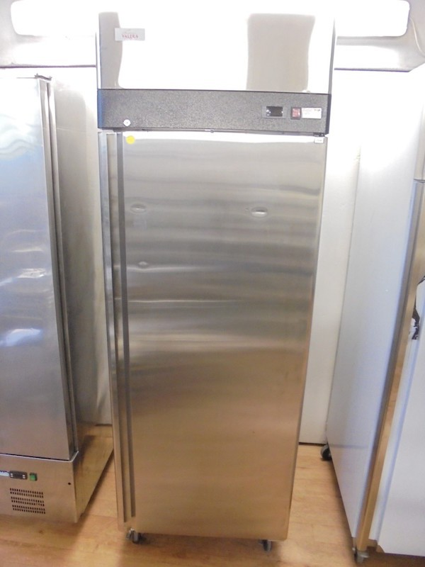 New Valera Stainless Steel Upright Fridge	(5255)