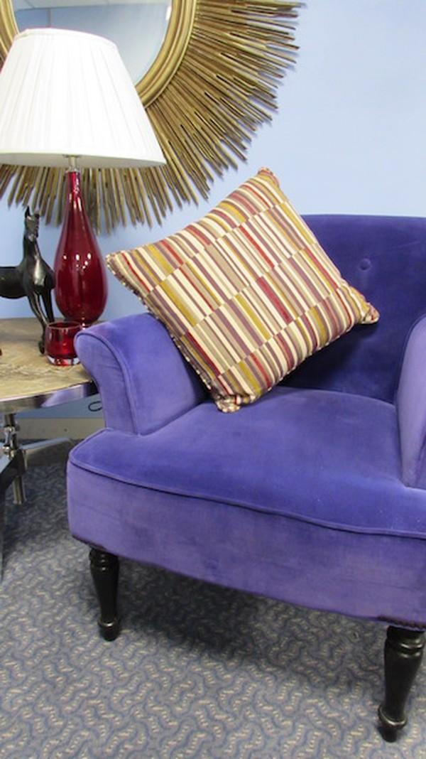 Vibrant Purple Chairs