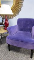 Vibrant Purple Chairs