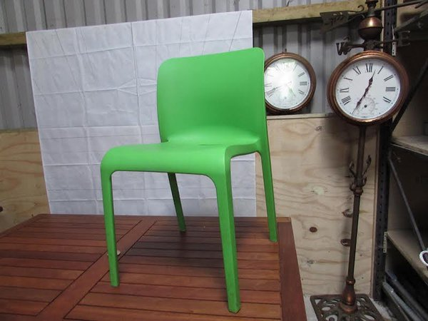 Green Cafe / Bistro Chairs