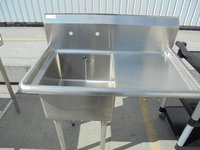Stainless Steel Vogue Single Sink (5271)