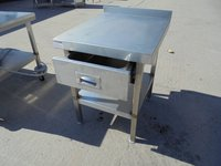 Stainless Steel Low Table (5280)