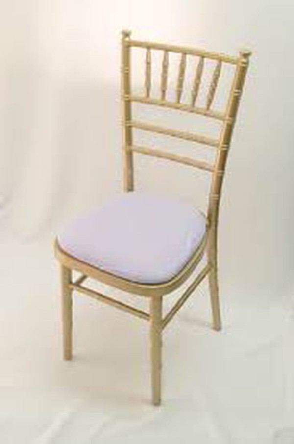 215 Gold Chiavari chairs brand new and never used. Still wrapped.