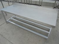 Stainless Steel Low Table / Stand (5298)