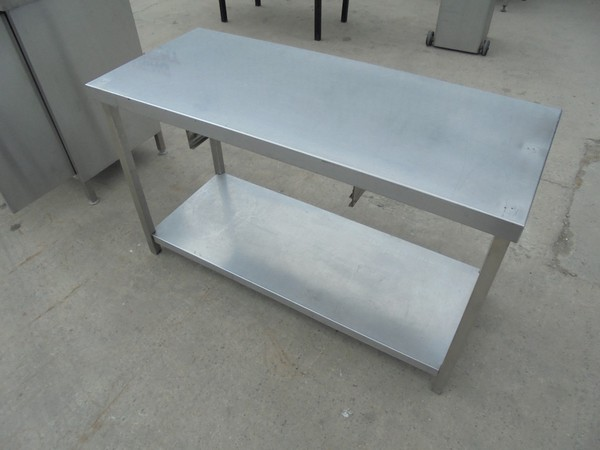 Stainless Steel Low Table (5309)