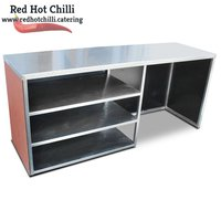 Stainless Steel Front Counter (Ref: RHC2420) - Warrington, Cheshire