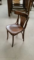 Bentwood chairs with Fanbacks
