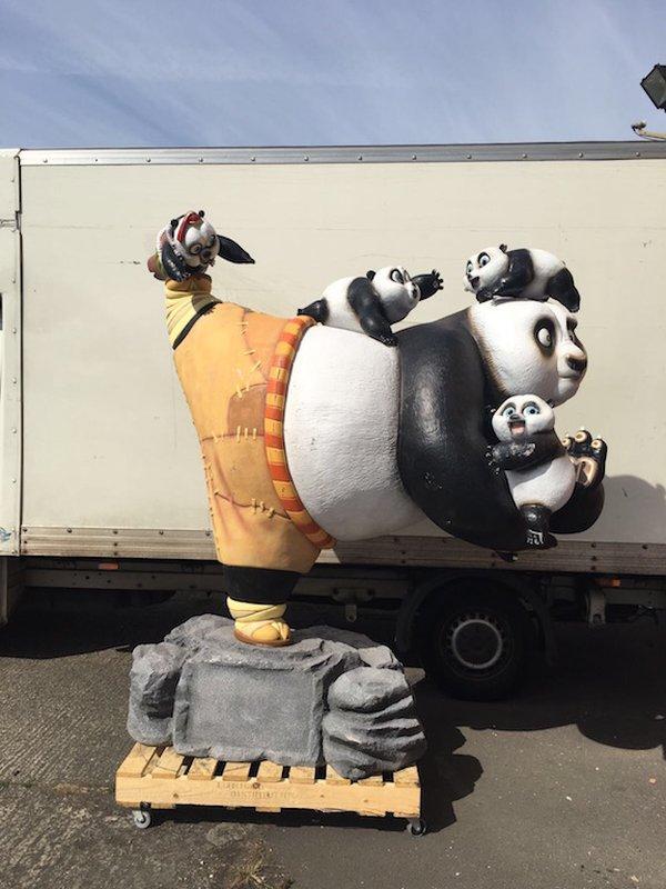 Fibreglass Kung Fu Panda
