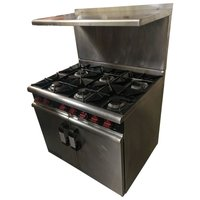 Moorwood Vulcan, M Line Plus 6 Burner (Product Code: CF1023)