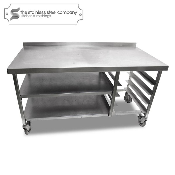 1.5m Stainless Steel Bench (Ref:SS88)