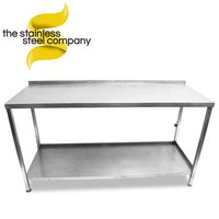 1.56m Stainless Steel Bench (Ref:SS81)
