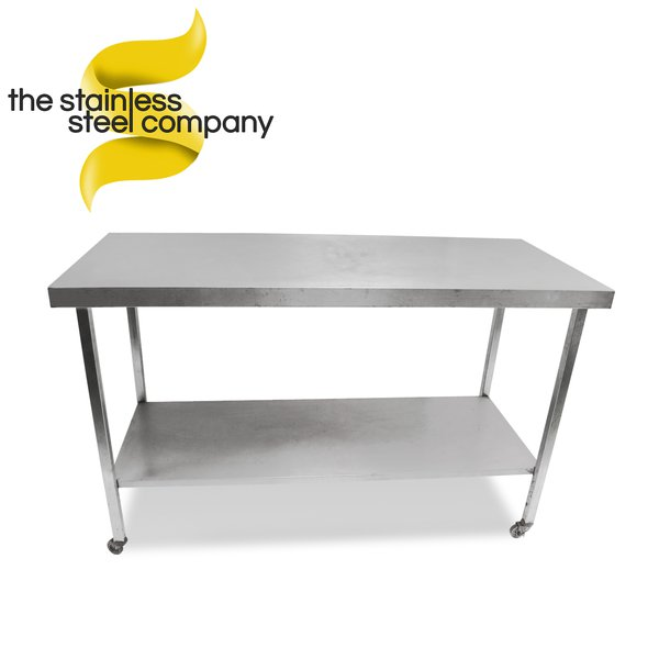 1.4m Stainless Steel Bench (Ref:SS77)