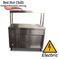 Stainless Steel Cupboard & Heated Gantry (Ref: RHC2444) - Warrington, Cheshire
