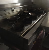Chinese 9 ring wok cooker