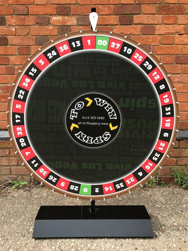 Large Club King Wheel of Fortune