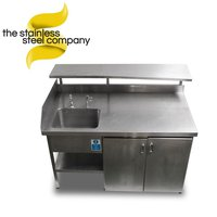1.61m Stainless Steel Sink (Ref:SS62)