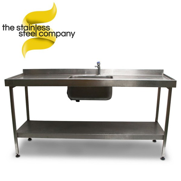 1.8m Stainless Steel Sink (Ref:SS20)