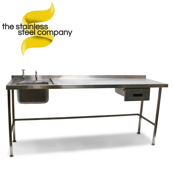 2.1m Stainless Steel Sink (Ref:SS17)