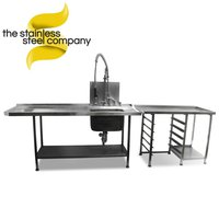 2.1m Stainless Steel Sink (Ref:SS14)