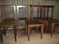 11x Square Wooden Pub / Restaurant / Café Tables (Code T 1263A)