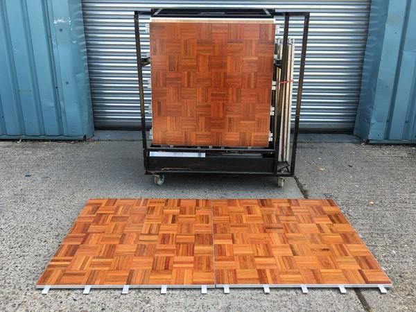 Portable Floor Maker Parquet Florlok Dance Floor