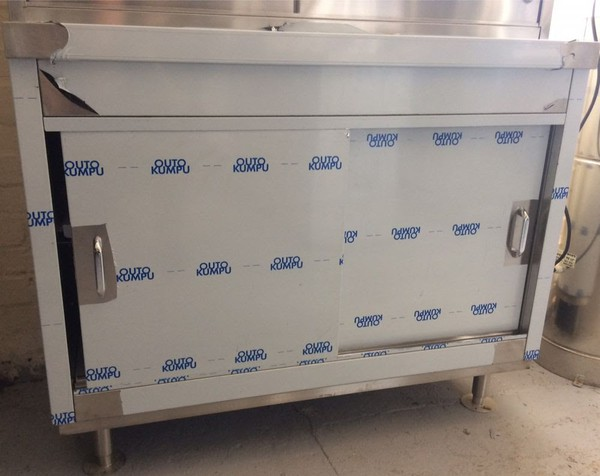 NEW Stainless Steel Storage Cupboard / Cabinet