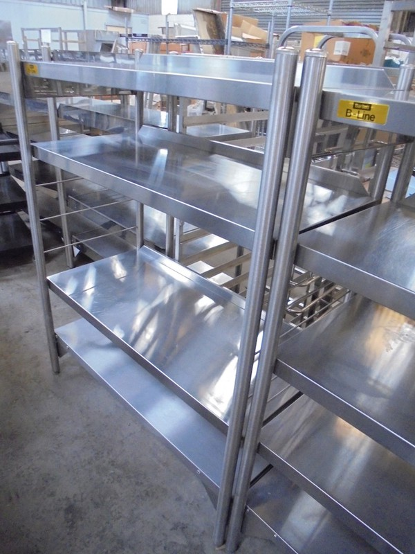 Bartlett Stainless Steel Freestanding Shelves (5340)