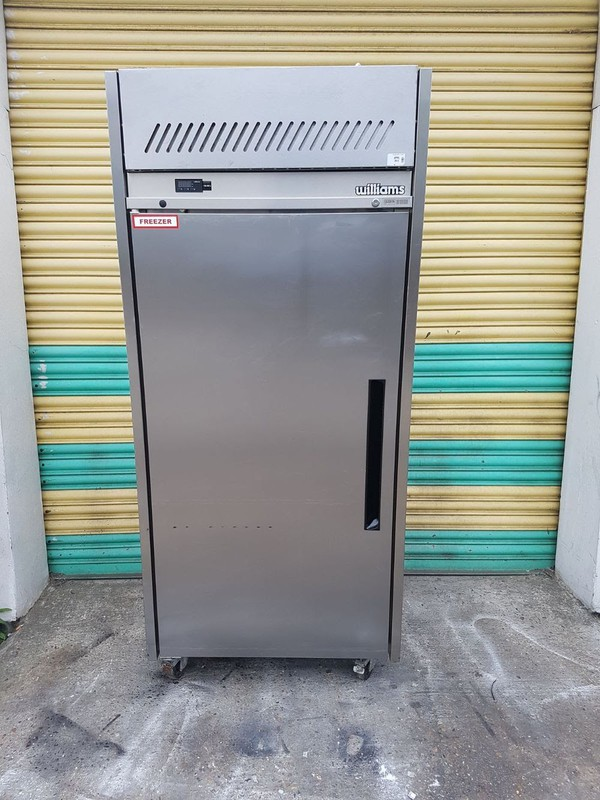 Williams LSJ1SS Commercial Upright Single Door Freezer Stainless with Warranty