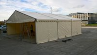 9m x 9m Clearspan Marquee